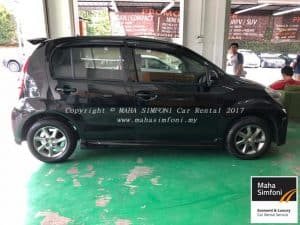 Perodua Myvi 1.5 Se (A) 2012 – Black