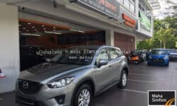 Mazda Cx5 2.0 (A) 2014 – Grey