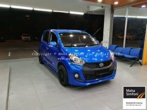 Perodua Myvi Icon 1.5 Se (A) 2016 – Blue