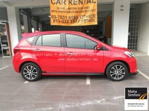 Perodua Myvi 1.5 Advance (A) Red 2017 1