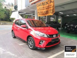 Perodua Myvi 1.5 Advance (A) 2018 – Red