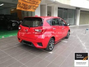 Perodua Myvi 1.5 Advance (A) Red 2017 3