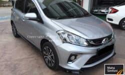 Perodua Myvi 1.5 Advance (A) – 2018 Silver