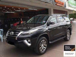 Toyota Fortuner 2.7V Trd (A) 2017 – Black