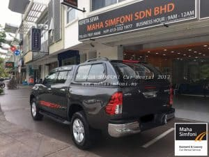 Toyota Hilux 2.5 (A) Canopy 2017 2
