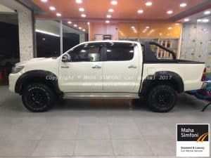 Toyota Hilux 2.5 (A) 2015 – White