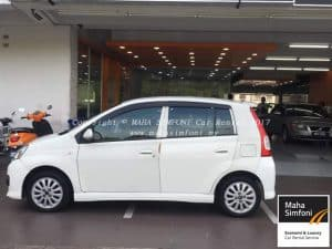Perodua Viva Elite 1.0 (A) – White