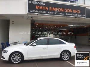 Audi A4 1.8 (A) – White