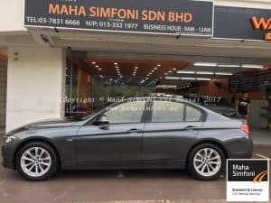 Bmw 3 Series F30 2.0 (A) – Grey