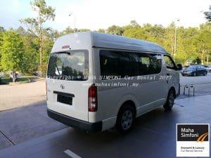 Hiace Diesel 13 Seat 2
