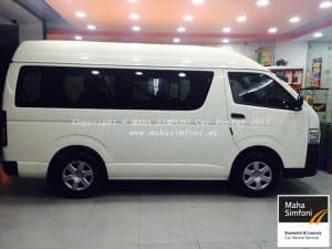 Toyota Hiace 2.5 Turbo Diesel (M) 10 Seater