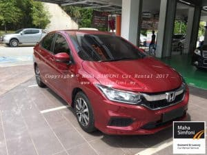 Honda City 1.5 (A) 2017 – Red