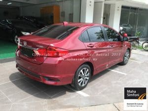 Honda City 1.5 (A) Red 2017 2