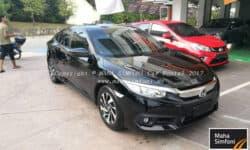 Honda Civic Fc 1.8 (A) 2017 – Black