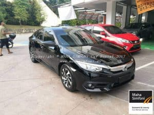 Honda Civic Fc 1.8 (A) 2017 – Black