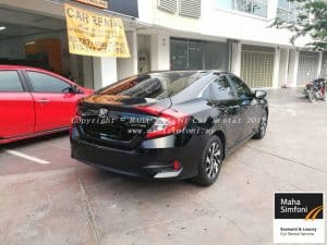 Honda Civic Fc 1.8 (A) Black 2017 3