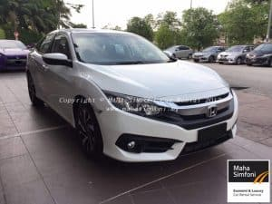 Honda Civic Fc 1.8 (A) 2017 – White