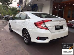 Honda Civic Fc 1.8 (A) White 2017 2