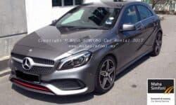 Mercedes A250 Amg 2.0 (A) – Dark Silver