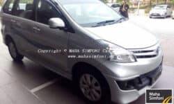Toyota Avanza 1.5 (A) – Silver