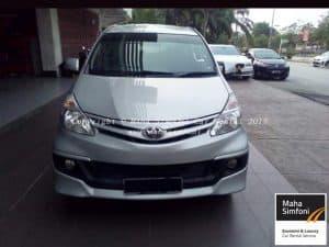 Toyota Avanza 1.5 (A) Silver 3