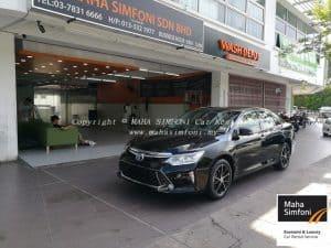 Toyota Camry 2.5v Hybrid (A) 2016 – Black