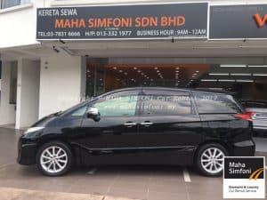 Toyota Estima Acr 50 2.4 (A) – Black 7 Seater