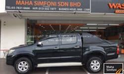 Toyota Hilux 2.5 (A) 2013 – Black