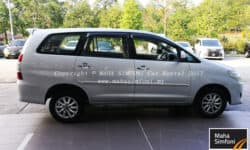 Toyota Innova 2.0 G (A) 8 Seater – Silver