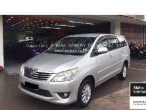 Toyota Innova 2.0 G (A) Silver 2