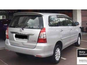 Toyota Innova 2.0 G (A) Silver 3