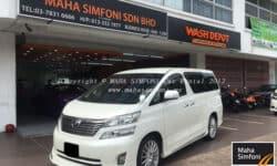 Toyota Vellfire 2.4 (A) 8 Seater – White