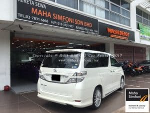 Toyota Vellfire 2.4 (A) 8 Seater 3