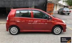 Perodua Viva Elite 1.0 (A) – Red