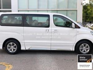 Hyundai Starex Royale 2.5 (A) 2018 – White