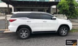 Toyota Fortuner 2.7V TRD (A) 2018 – Diesel White