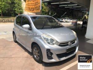 Perodua Myvi 1.5 Se (A) – 2012 Silver