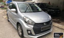 Perodua Myvi 1.5 Advance (A) – 2017 Silver