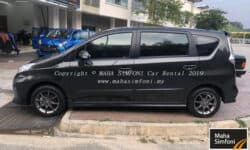 Perodua Alza 1.5 (A) 2019 – Dark Brown