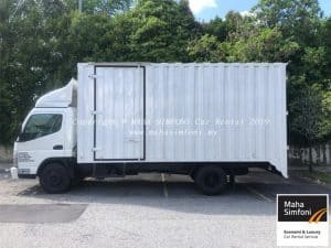 Mitsubishi Fuso 3 Ton 16.5 Feet-Container Box