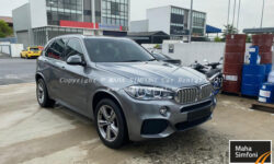 Bmw X5 M-Sport Xdrive 40E 2.0 (A) – Grey 2018