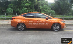 Nissan Almera Turbo 2021 1.0 (A) – Orange