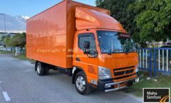Mitsubishi Fuso 3 Ton 16.5 Feet-Container Box Orange