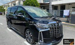 Toyota Alphard 2.5 (A) 7 Seater 2020 – Black